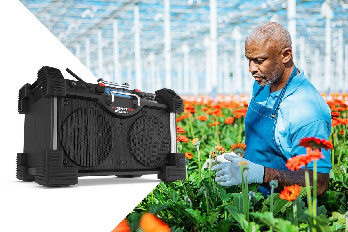 garden radio